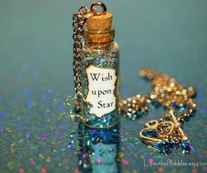 wish, sparkle, and stars image