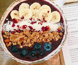 banana, blueberry, and fitness image