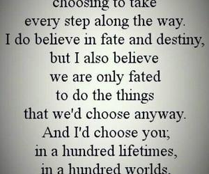 love, destiny, and fate image