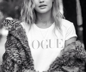 gigi hadid, model, and vogue image