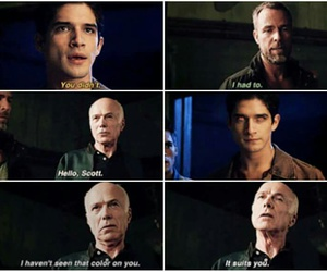 scott mccall, chris argent, and alpha image