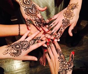 henna, tattoo, and gigi hadid image