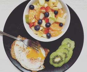 breakfast, eggs, and fitness image
