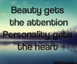 beauty, quote, and personality image