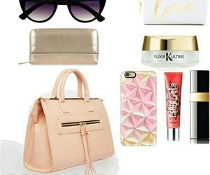 benefit, chanel, and handbag image