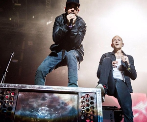 linkin park, chester bennington, and mike shinoda image