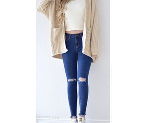 blonde, clothes, and cool image