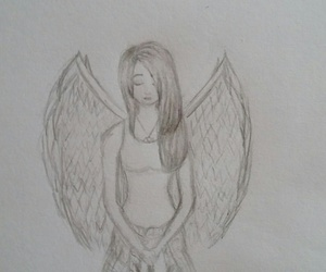 angel, drawings, and feelings image