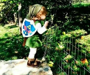 baby, cosplay, and link image