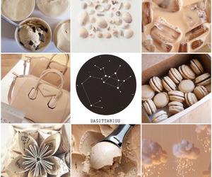 brown, Sagittarius, and aesthetic image