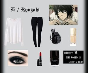 casual, look, and death note image