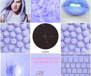 taurus, aesthetic, and horoscope image
