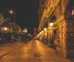 lights, street, and tunisia image