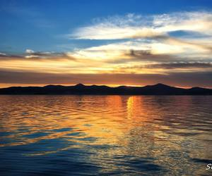 Croatia, sunset, and zadar image