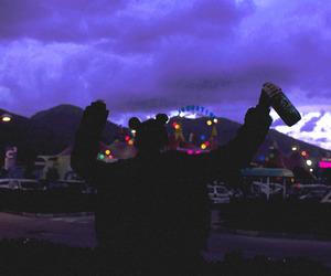 grunge, tumblr, and purple image