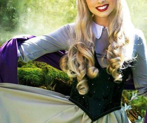 aurora, Briar Rose, and costume image