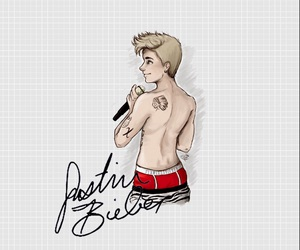 beautiful, iphone, and justin image