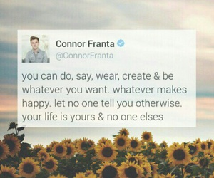 Connor and quote image