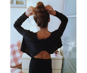 back, color, and fashion image
