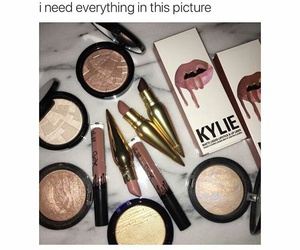 beauty, highlight, and lipstick image