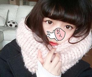 winter, かわいい, and japanesegirl image