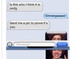 funny, text, and Harry Styles image