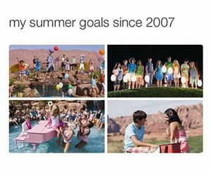 goals, summer, and funny image