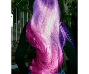 colorful, Dream, and hair image