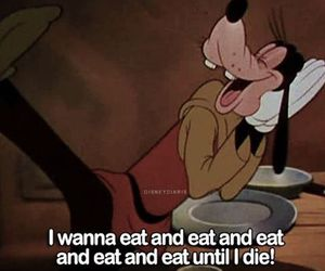 food, disney, and quote image