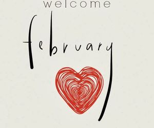 february, month, and happy image