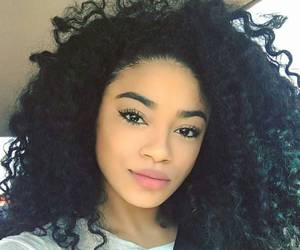 curls and curly hair image