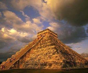 mexico, pyramid, and chichen itza image