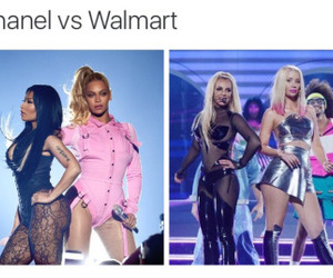 nicki minaj and beyoncé image
