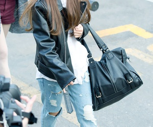fashion, jacket, and kpop image