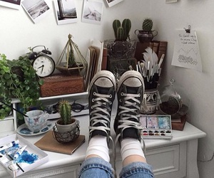 grunge, aesthetic, and converse image