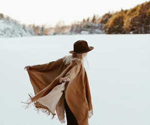 fashion, photography, and winter image