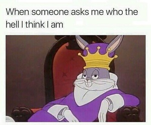 funny, Queen, and king image