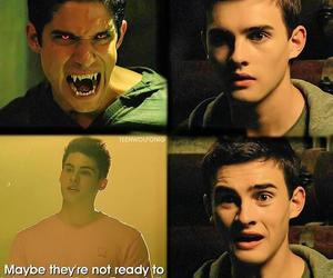 teen wolf, theo, and corey image