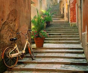 italy, beautiful, and bike image