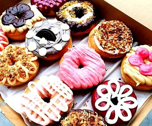 coffee, cook, and donuts image