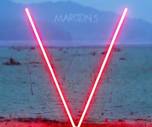 v, maroon 5, and music image