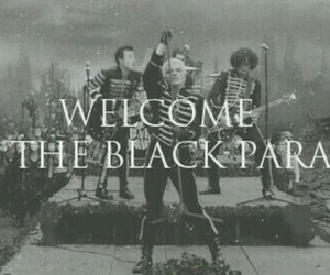 my chemical romance, mcr, and black parade image