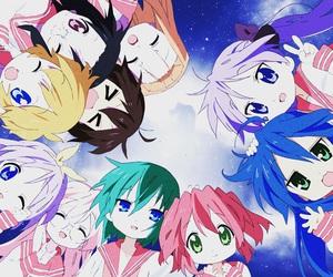 anime, lucky star, and konata image