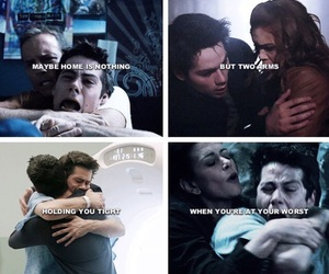 scott mccall, lydia martin, and stiles stilinski image