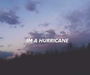 hurricane, Lyrics, and song image