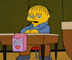 aw, simpson, and Valentine's Day image