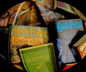 books, harry potter, and colection image