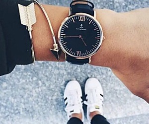 fashion, watch, and adidas image