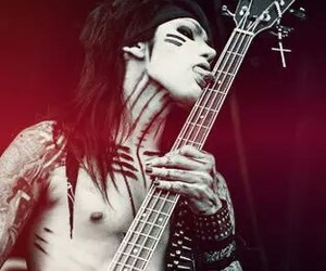 ashley purdy, black veil brides, and bvb image