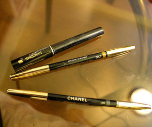 chanel, eyeliner, and lancome image